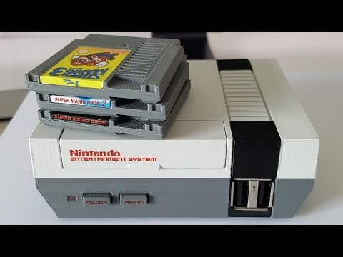 NESPi - my Mini NES Classic Raspberry Pi games console