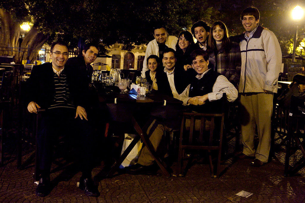 San Telmo Plaza with Oracle Argentina Officemates