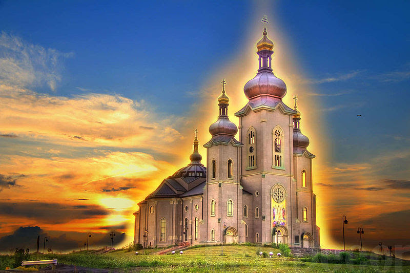 File:Cathedral of the Transfiguration (Markham) Sunrise.jpg