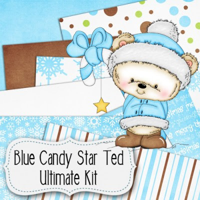 Blue Candy Star Ted Ultimate Kit