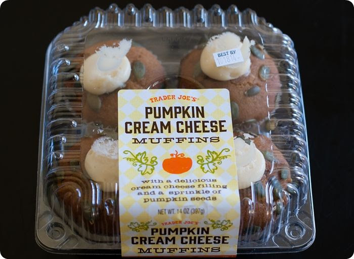 trader joe's pumpkin cream cheese muffins review