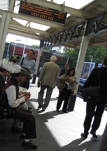 Pirate at Richmond Station