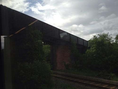 Edstone aqueduct (taken from train)