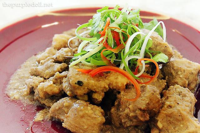 Braised Duck, Taro and Fermented Bean Curd