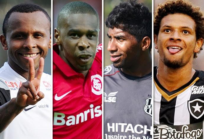 Montagem Jogadores Perto do Flamengo (Foto: GloboEsporte.com)