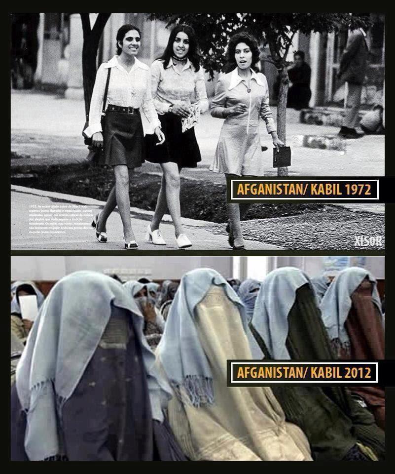 Afghanistan Women: Then & Now