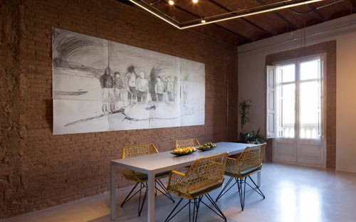 Barcelona Apartment Renovation by TC Interiors in interior design architecture  Category