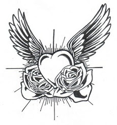 Four Heart With Wings Tattoos Meaningful Memories Tattoo Artist Ideas