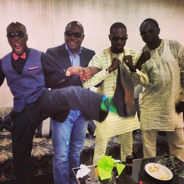 Ikechukwu, D'Banj & Tony Nwakalor