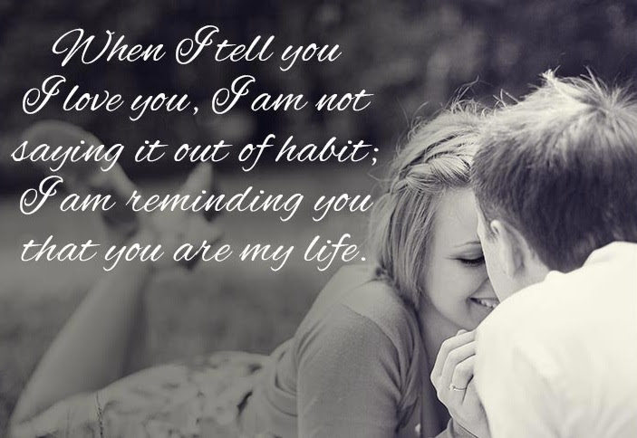 Deep love quotes : Romantic and lovely quotes and wishes