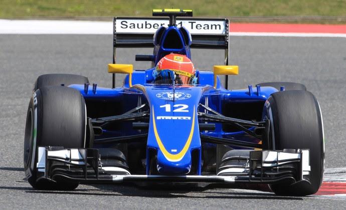 Felipe Nasr chegou em oitavo no GP da China e ganhou elogios da chefe Monisha Kaltenborn (Foto: Divulgação)