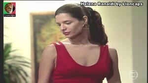 Helena Ranaldi sensual na novela Quatro por quatro