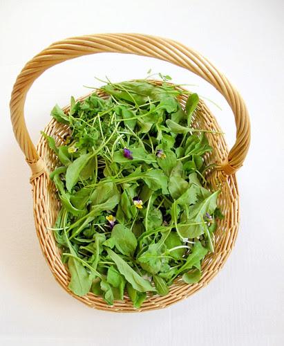 neighborly basket of arugala