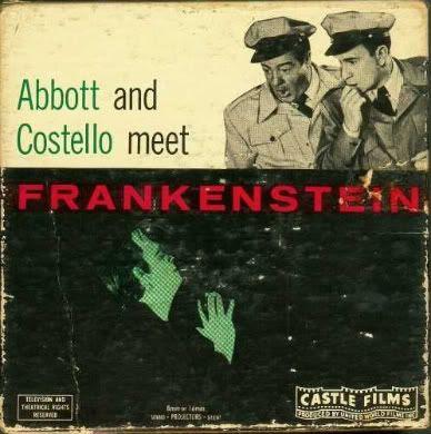 Bud Abbott Lou Costello Frankenstein Castle Films