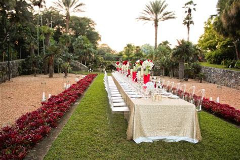 top 6 garden wedding venues florida fairchild tropical