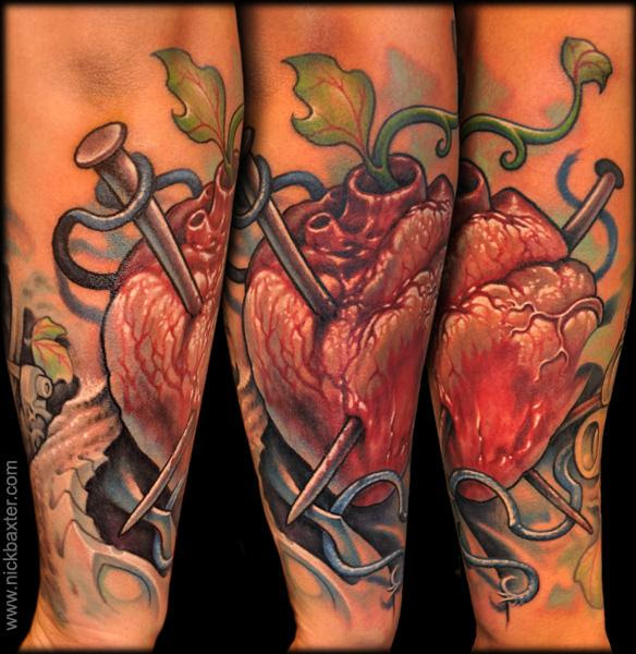 Nick Baxter Tattoos Bio Organic Amor De Madre