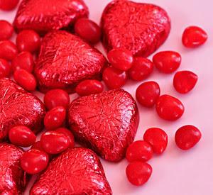 Valentine?s day candy