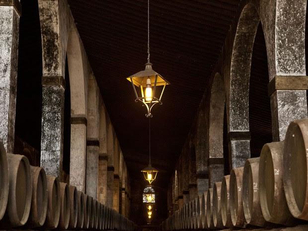 Vinícola visitada na Espanha durante viagem, varginha (Foto: Pedro Henrique Barros/Wine World Adventure)