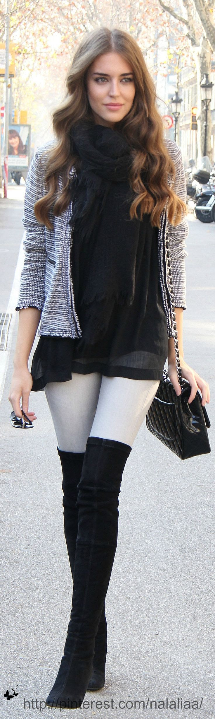 Clara Alonso - totally going to be my fall/winter look
