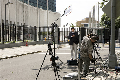 On the Air, at the United Nations