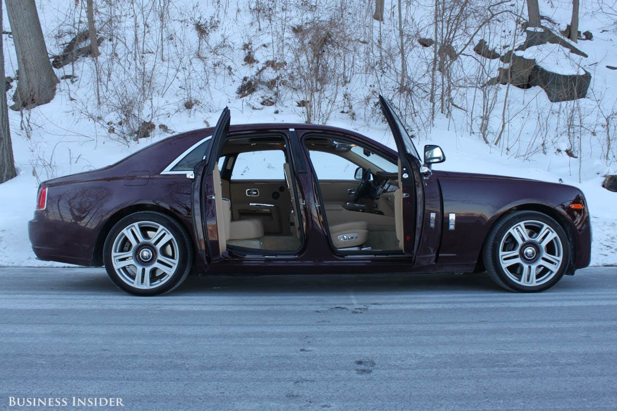 At the beginning of the year, we spent a few winter days behind of the wheel of the company's plush Ghost Series II sedan. It's possibly the most refined car I've ever driven.