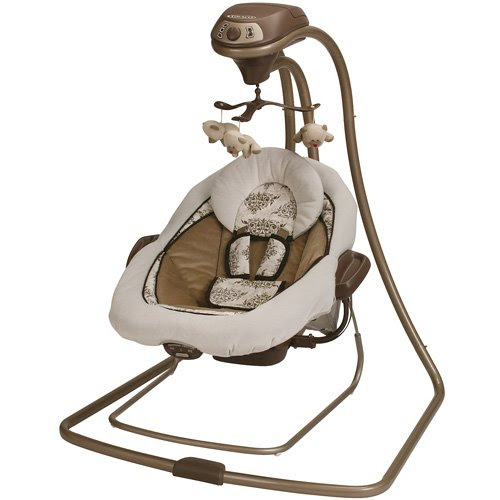 Graco Baby Swing + Bouncer Duet Connect - Farrow