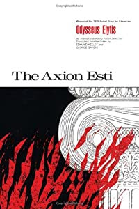 "Cover of ""The Axion Esti (Pitt Poetry Ser..."
