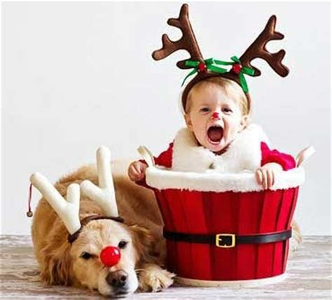 cutest christmas baby profile dp  whatsapp