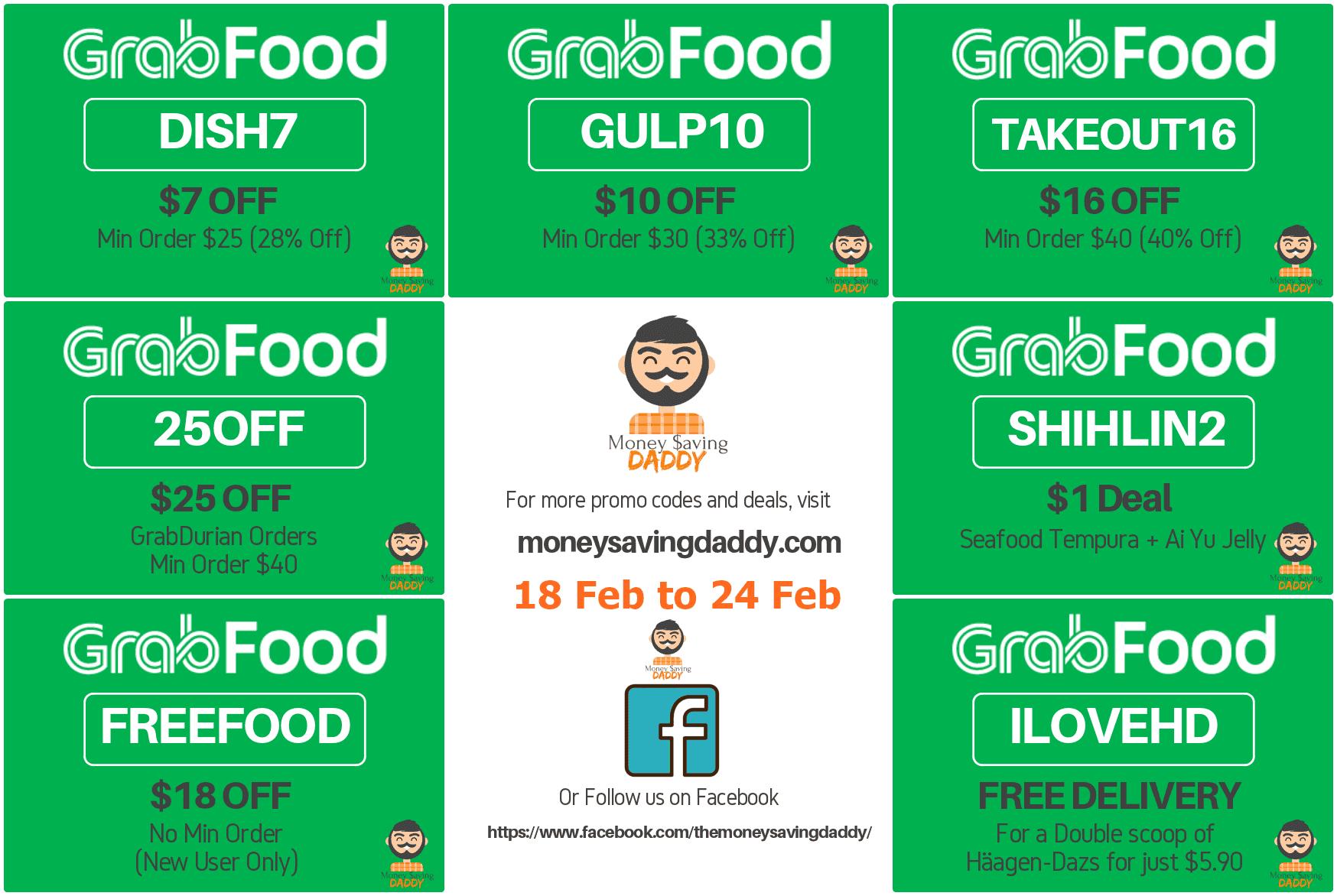 Grab Food Delivery Promo Kode Promo Grab