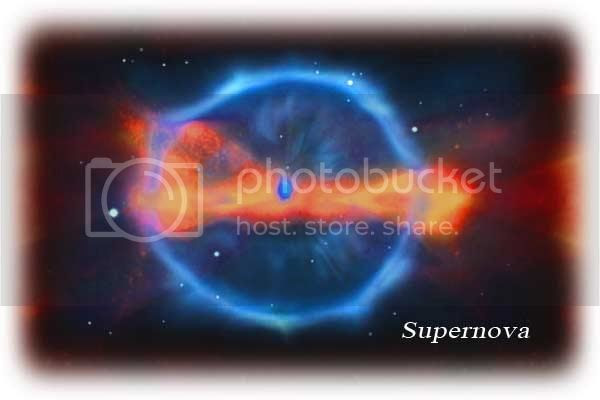 Supernova which helps scientists to find the rate of the expansion of our universe