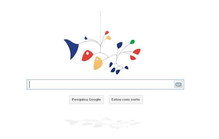Logo animado mostra um móbile / Foto: Reprodução/Google