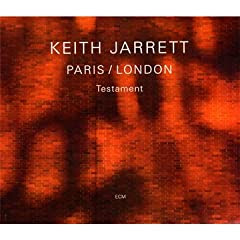 Keith Jarrett London / Paris - Testament cover