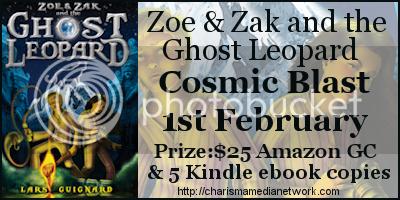 Zoe & Zak and The Ghost Leopard Cosmic Blast Banner
