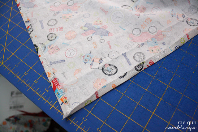 DIY Moby baby carrier with decorative panel - Rae Gun Ramblings