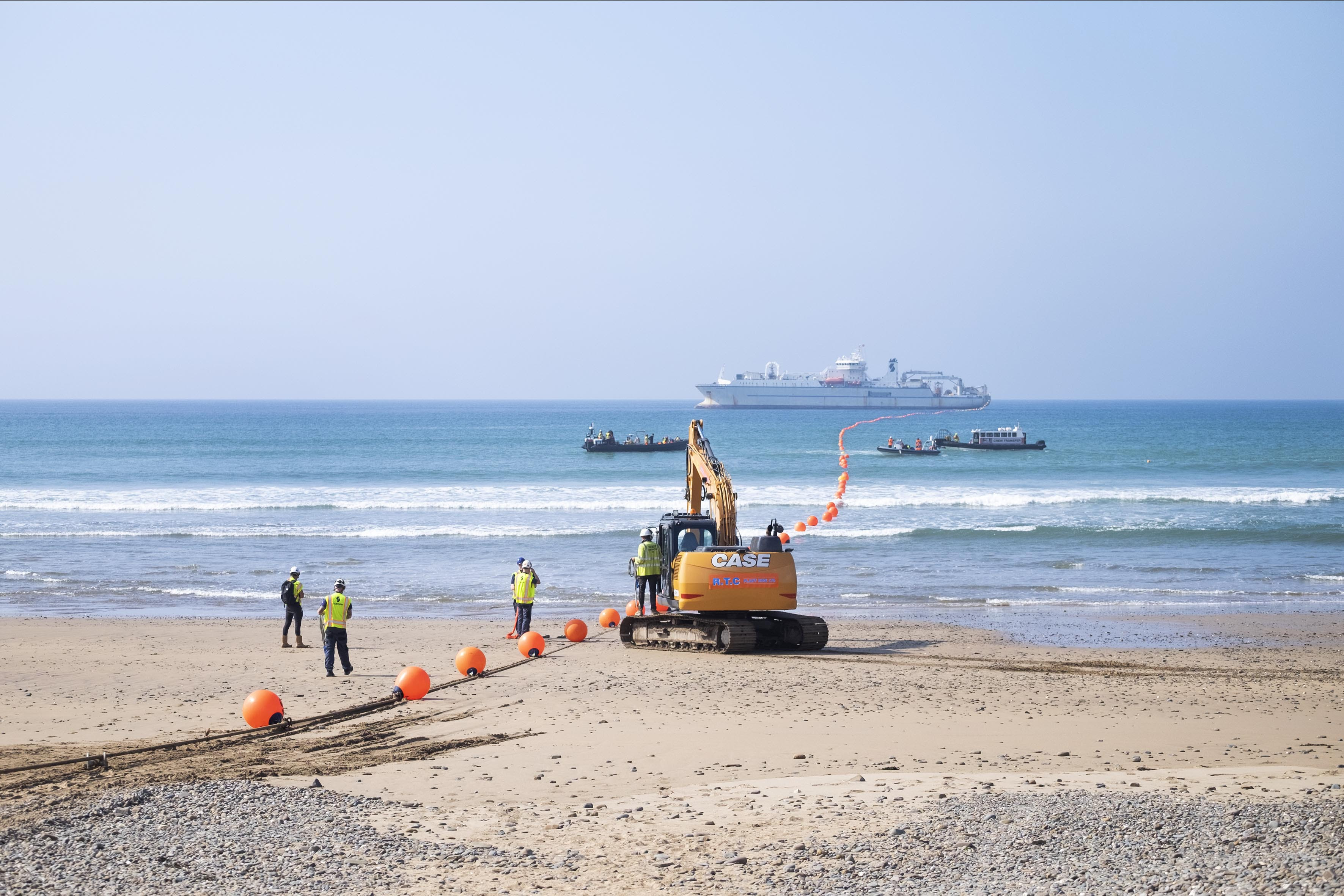 Catch of the day... for Google, anyway: Transatlantic Cornwall cable hauled ashore