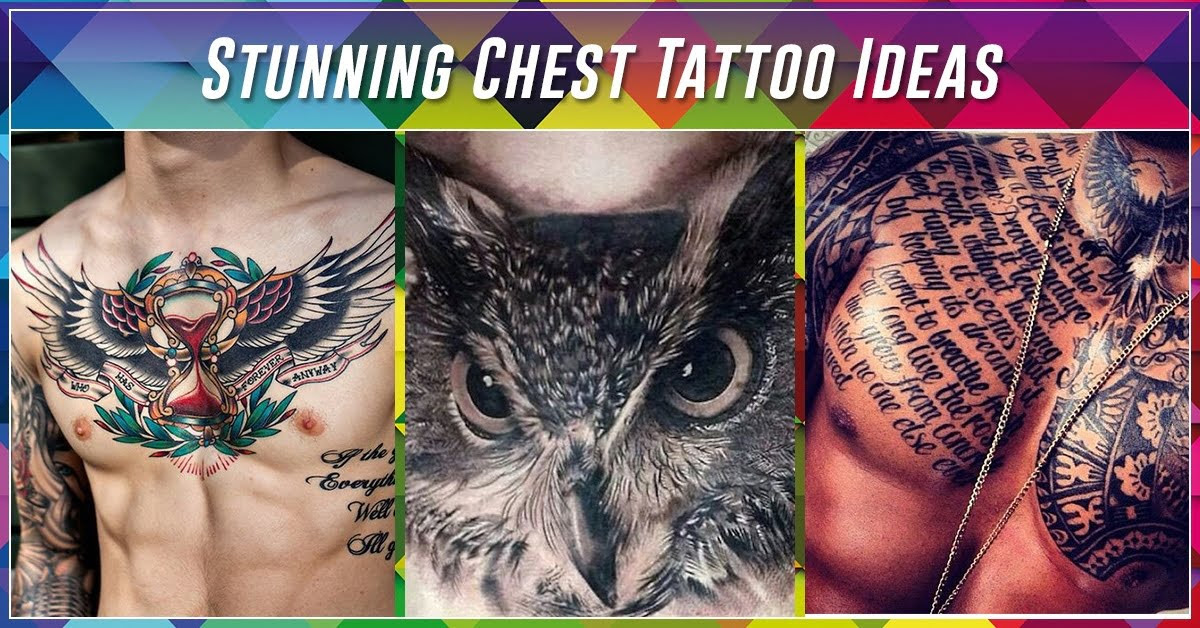 60 Best Chest Tattoos Meanings Ideas And Designs For 2019