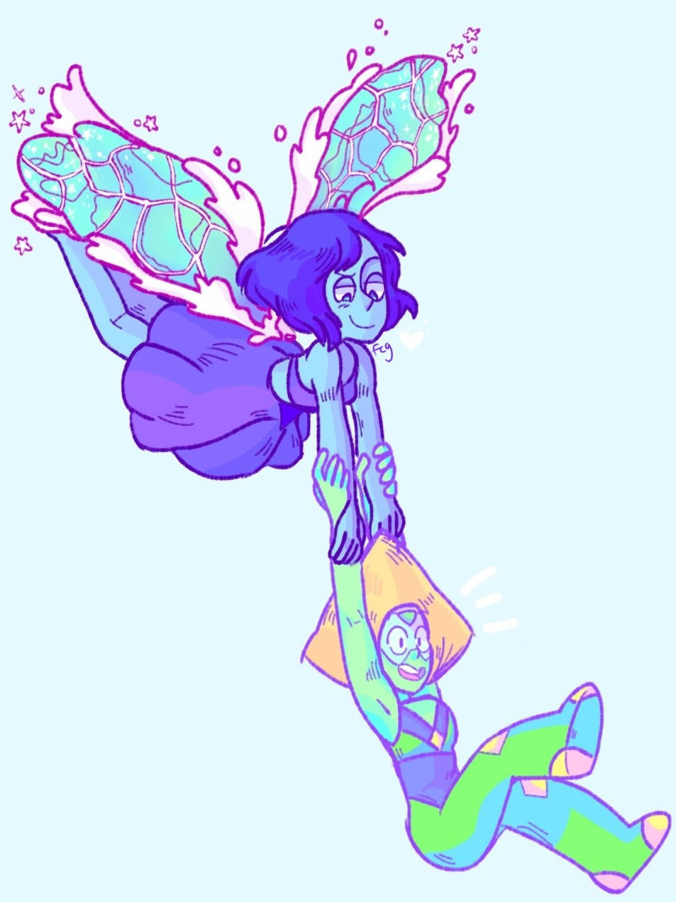 Lapidot + practice with water