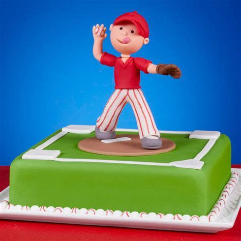 Perfect Pitch Baseball Cake   Wilton