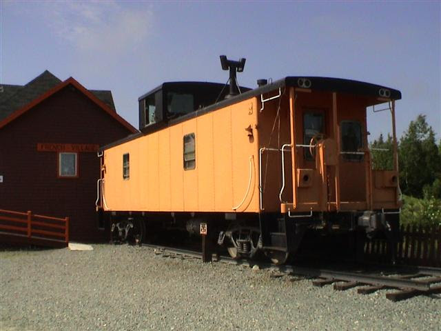 Ex-CN Caboose, French Village, Nova Scotia