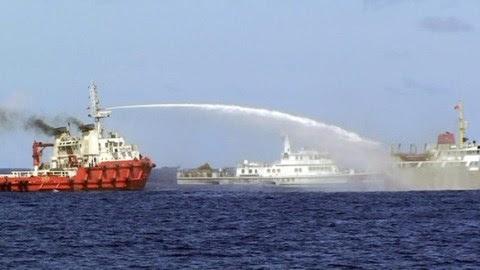 TQ, biển Đông, giàn khoan Hải Dương 981, trỗi dậy hòa bình, bành trướng, tòa quốc tế, luật biển, COC, DOC, Công ước luật biển