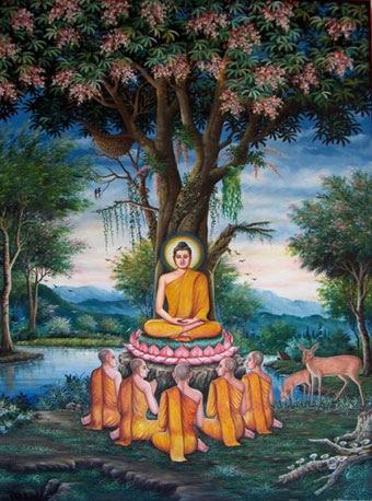 The Gautama Buddha Avatar - The Ninth Avatar of Lord Vishnu