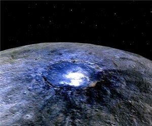 Pontos brilhantes de Ceres podem ser sair sais