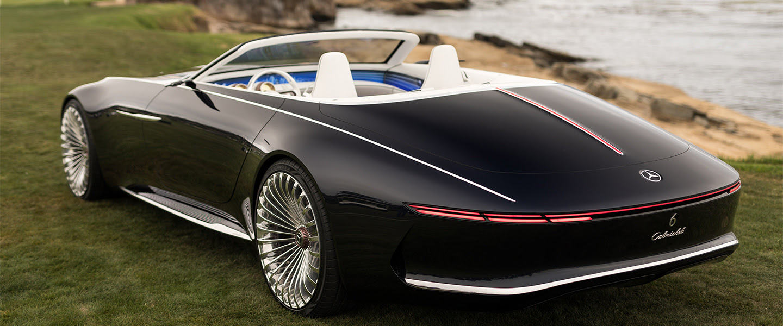 Mercedes-Maybach Reveals New Futuristic Convertible ...