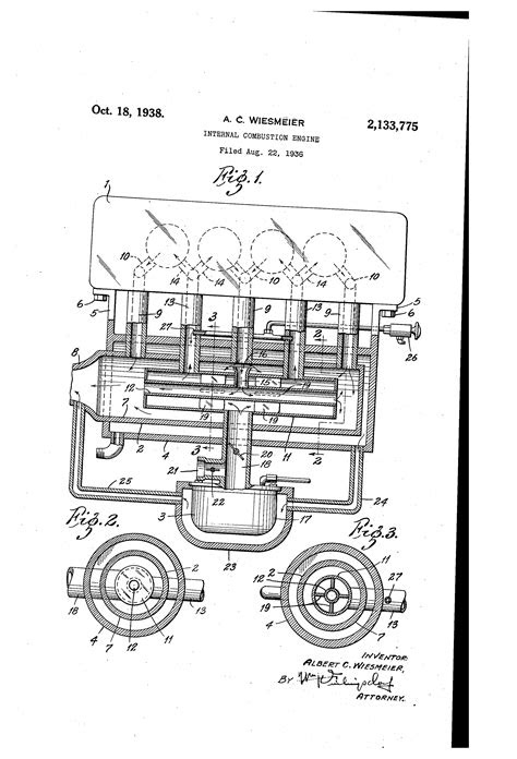 Patent US2133775 - Internal combustion engine - Google Patents