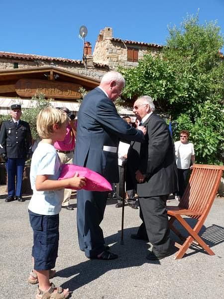 remise de la Légion d'honneur à Joseph Tafanelli