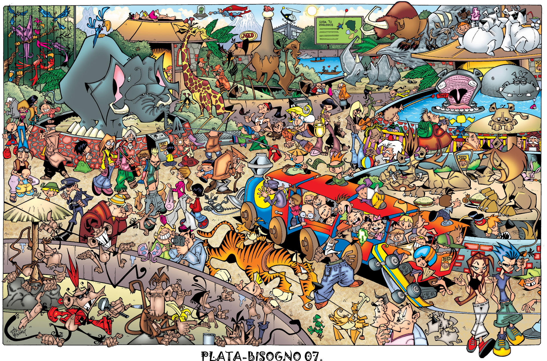 Image result for zoo paintings