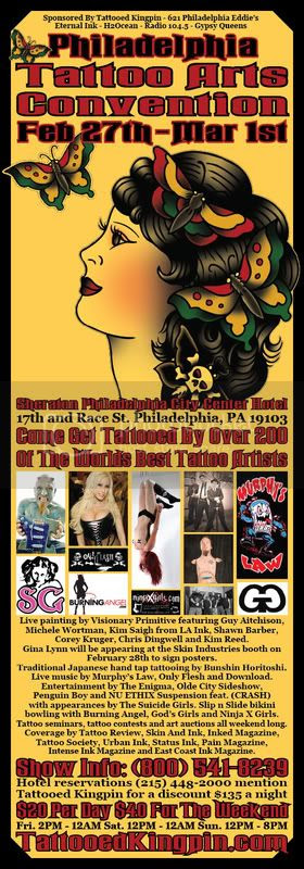 philly tattoo flyer