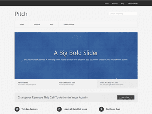 Pitch Free WordPress Theme