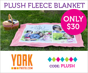 Plush Custom Photo Fleece Blanket – Just $30 – Save $32.99!