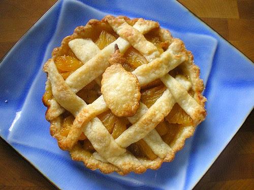 Mini Pineapple-Vanilla Bean Tart